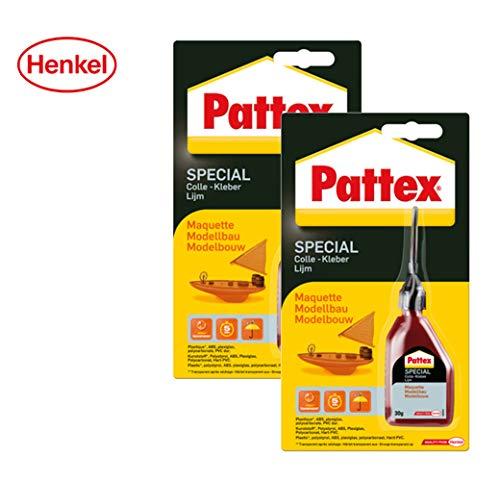 Pattex speciale lijm modelbouw, 2 Packungen