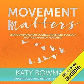 Movement Matters audiobook cover art