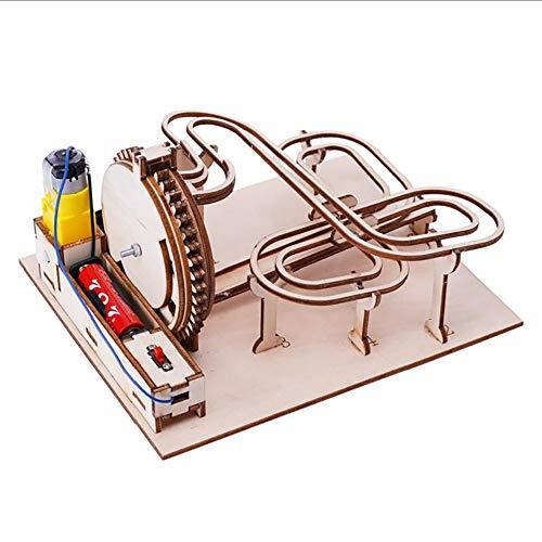 Rompecabezas De Madera 3D, Juego De Mármol Modelo De Madera DIY Kits De Construcción De Ingeniería, Niños/Adultos Decoración del Hogar Montaje De Juguetes Educativos