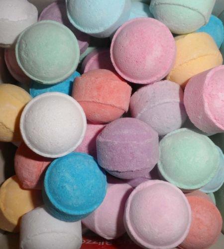 Fizzys Lot de 50 Boules de bain mixtes