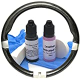 Leather Assist Black Leather Repair Kit for BMW Car Steering Wheel Dye Worn Seats Small Repair Paint