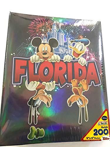 Disney Mickey Mouse Gang Florida Sweet Memories 200 Picture Photo Album 4x6