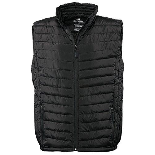 Tee Jays - Veste rembourrée sans Manches - Homme (XL) (Noir)