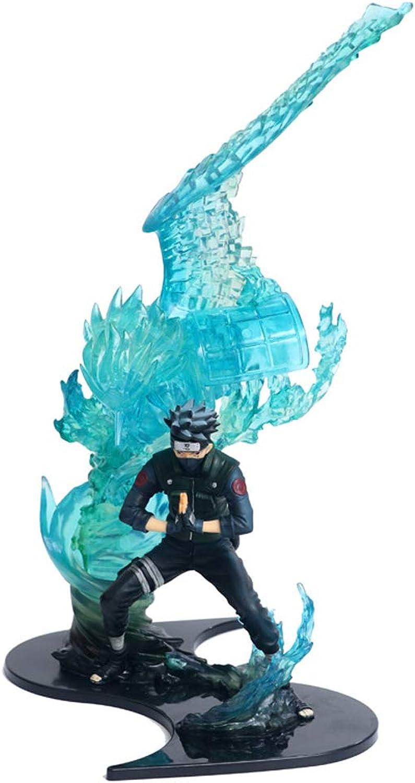 DUDDP Anime Charakter Anime Charakter Naruto Modell Modell Flamme Kakashi Hand Modell Geschenk Sammlung Kunsthandwerk 22cm Comic-Statue B07PR986K8 Sorgfältig ausgewählte Materialien    2019
