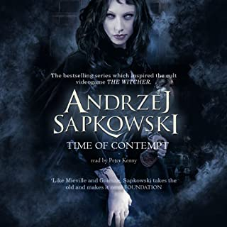 Time of Contempt audiobook cover art