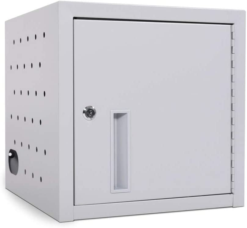 Price reduction Luxor Steel 8 Tablet Wall or Regular discount Box Lockable Charging Doo with Desk