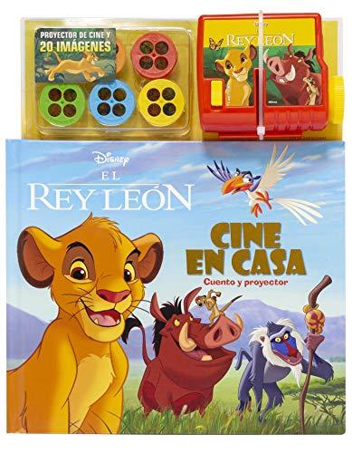 El Rey León. Cine en casa: Cuento y proyector (Disney. El Rey León)