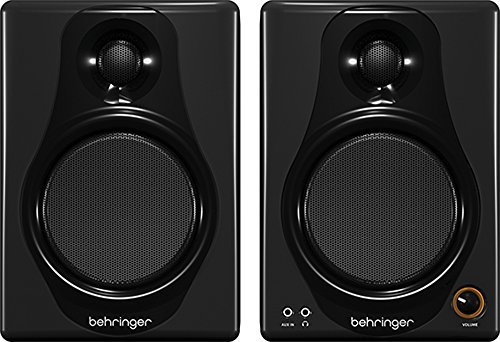 Behringer MEDIA 40USB 40W Bi-Amped Digital Monitor Hoofdtelefoon met USB