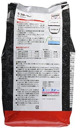 スドー『メダカの焼玉土黒2.5L』