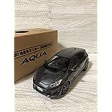 1/30 トヨタ 新型アクア カラーサンプル ミニカー 非売品 グレーメタリック