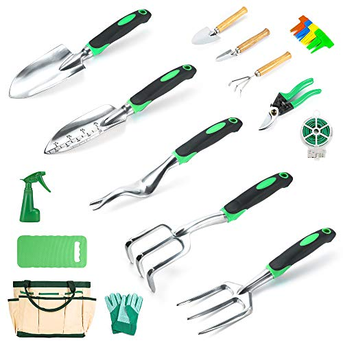 Crenova Garden Tools Set 34-Piec...
