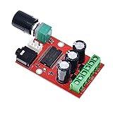 Zhengpingpai Estéreo YDA138-E 2x12W Amplificador Digital Board estereofonía Amplificador de Potencia Junta miniatu Clase D Amplificador de Sonido Junta de Alta Definición YDA138
