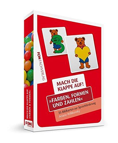 Mach die Klappe auf - Farben, Formen und Zahlen: Bildkarten zur Sprachförderung