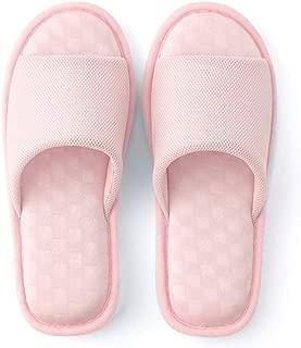 JLHBM Las Zapatillas De Casa Se Pueden Lavar Zapatillas De Algodón con Punta Abierta Lino Suave Y Resistente Al Agua Memoria De Fondo Zapatillas De Interior (Color : E, Size : 37-38)
