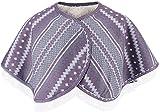 AMBH Plus terciopelo cálido hombro calentamiento, capa de protección sin mangas para el cuello, capucha suave para el calor del cuello de los ancianos invierno protección de hombro mantón