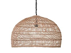 Amazon Kouboo Rattan Pendant Light