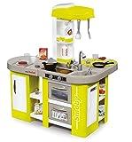 Smoby - 311024 - Tefal Cuisine Studio XL - Jeu d'Imitation - Module Electronique - + 36 Accessoires - Pile Incluse - Vert