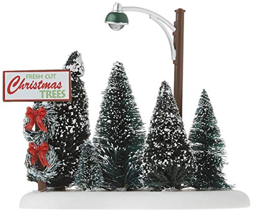 Department 56 Accessories for Villages Lit Christmas Tree Lot Accessory Figurine