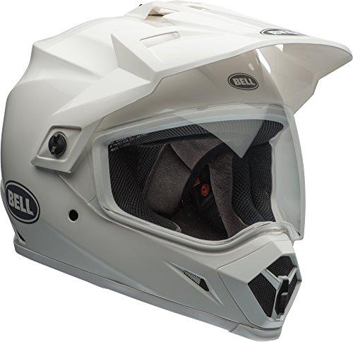 Bell MX-9 Adventure MIPS Dirt Helmet (Gloss White - Medium)