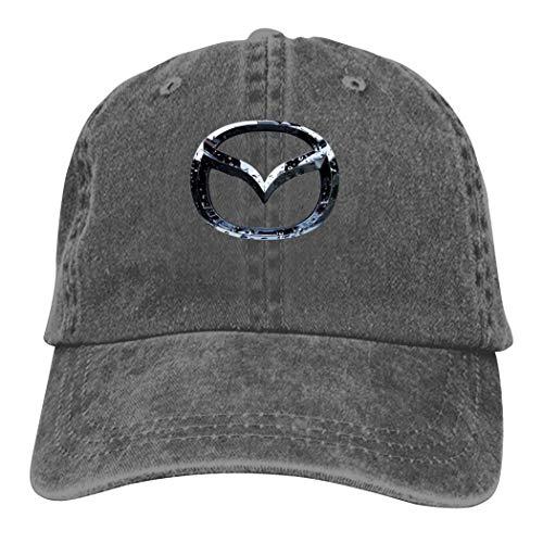 5525 RRGGSHUN Ma-Zda Baseball Cap Unisex Sun UV Caps Verstellbare Denim Dad Hat