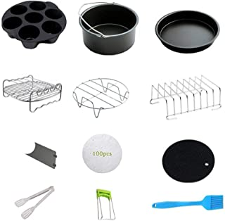 Coyan 12 PCS Accessories for Instant Pot stainless steel egg steamer rack non-stick springform pan silicone pot holder silicone egg shape silicone egg shape tilicone pot egg cutters Dish Clip modern