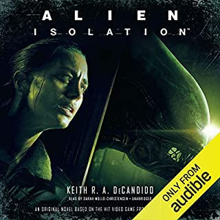 Alien: Isolation audiobook cover art