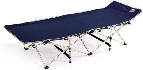 WJJH Sonnenliege LiegestuhlRelaxsessel & -Liegen Outdoor Liegestuhl Verst ung Klappbett Siesta Einzelbett Büro Klappstuhl MittagSpaßse Einfache Camp Bett Style-2