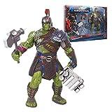 lkw-love Marvel Toys - Avengers Desmontables articulaciones 3/4 - Gladiator Hulk Figure Model 8 Inch...
