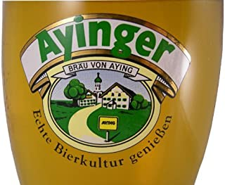 (1) Ayinger 0.3 L Weiss Wheat Beer Glass