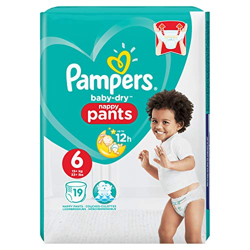 Pampers Baby Dry Windelhose, 600 g
