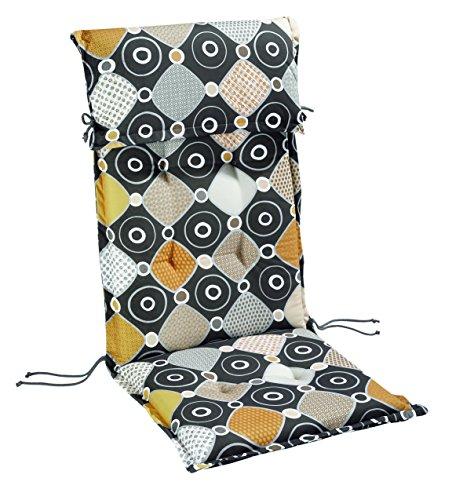BEST pour Chaise Longue à roulettes STS, Multicolore, 190 x 60 x 8 cm, 1401710