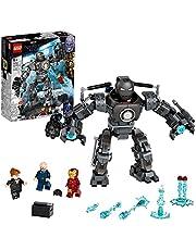 LEGO 76190 Marvel Iron Man Monger Mayhem set, Avengers Mech byggleksak, actionfigur för barn 9+ år