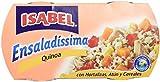 Isabel Ensalada Atún Verduras y Quinoa Bi-Pack - Paquete de 9 x 320 gr - Total: 2880 gr