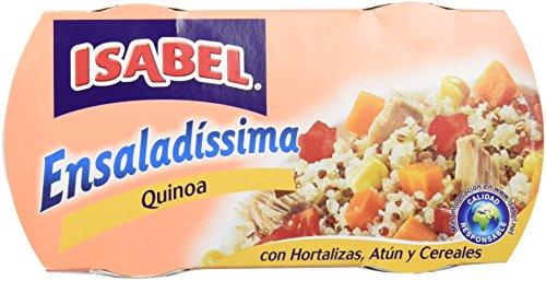 Isabel Ensalada Atún Verduras y Quinoa Bi-Pack - Paquete de