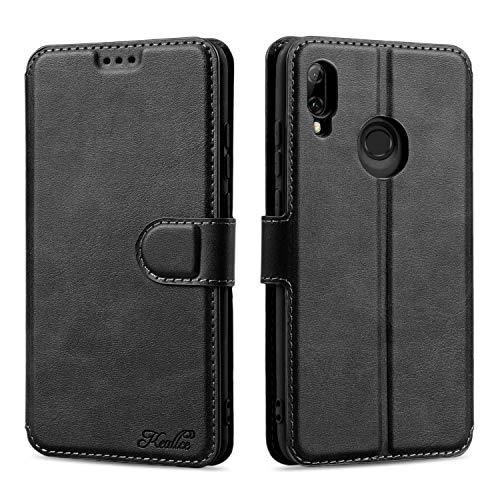 Keallce für Huawei P Smart 2019 Hülle,P Smart 2019 Handy Hülle Lederhülle,P Smart 2019 PU Leder Hülle Brieftasche Handytasche Cover Kompatibel für Huawei P Smart 2019 Ledertasche-6.21