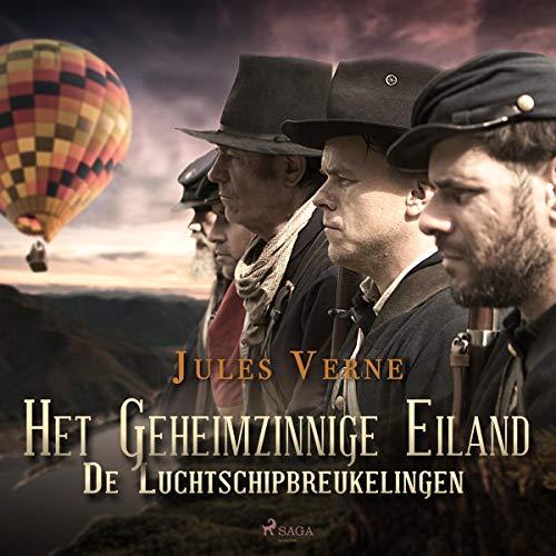 Het Geheimzinnige Eiland De Luchtschipbreukelingen cover art