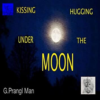 Kissing Hugging Under the Moon