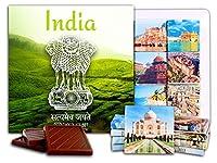 """DA CHOCOLATE キャンディ スーベニア """"インド"""" INDIA チョコレートセット 5×5一箱 (Plantation)"""