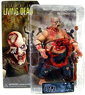 Attack of the Living Dead (Afterlife) Mezco Toyz Zombie Action Figure Earl (Light Skin)
