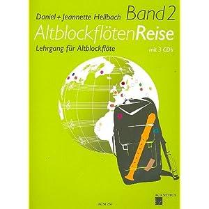 Acanthus Music Altblockflöten Reise Band 2