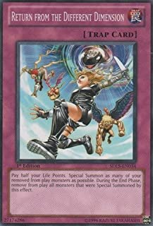 Yu-Gi-Oh! - Return from the Different Dimension (SDLS-EN034) - Structure Deck: Lost Sanctuary - 1st Edition - Common