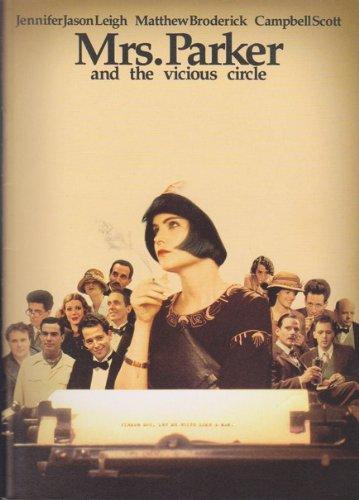 映画パンフレット「ミセス・パーカー/ジャズエイジの華」監督:アラン・ルドルフ 出演:ジェニファー・ジェイソン・リー、キャンベル・スコット
