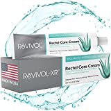 ReVIVOL-XR Plus, Advanced Hemorrhoid Treatment, 5% Lidocaine Cream + Powerful Antioxidants for Rapid Relief from Pain, Itch, & Burn. Made in USA. 28g Tube.