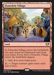 Magic: the Gathering - Flamekin Village (060/337) - Commander 2014