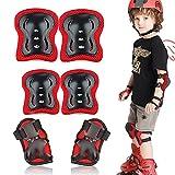 Protection Roller Enfant, Kit de Protection Skate pour Garcon Fille, Réglable Protection Patin à Roulette pour Skateboard, Cyclisme, Scooter, Vélo, Escalade