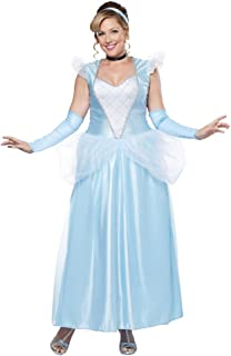 California Costumes Women's Plus-Size Classic Cinderella Long Dress Gown