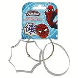 Boyztoys Spiderman-Formine per Biscotti, Metallizzata, Confezione da 2