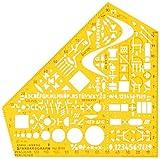 Standardgraph 8191 Schablone Stano-Winkel