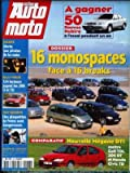 ACTION AUTO MOTO [No 36] du 01/07/1997 - DOSSIER : 16 MONOSPACE FACE A 16 BREAKS....