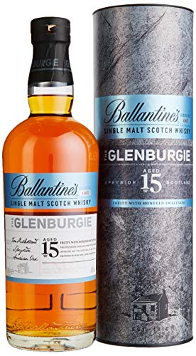 Ballantine's THE GLENBURGIE 15 Years Old Single Malt Scotch Whisky mit Geschenkverpackung (1 x 0.7 l)